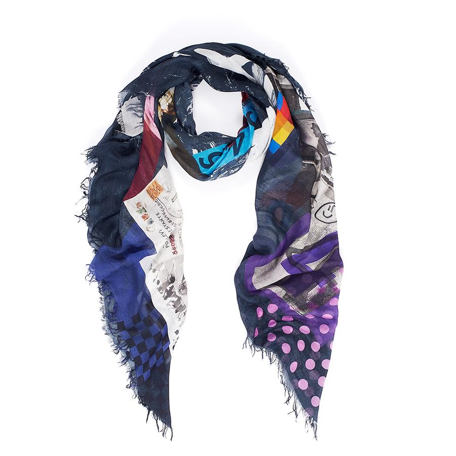 Suzi Roher Scarf - POST NO BILLS