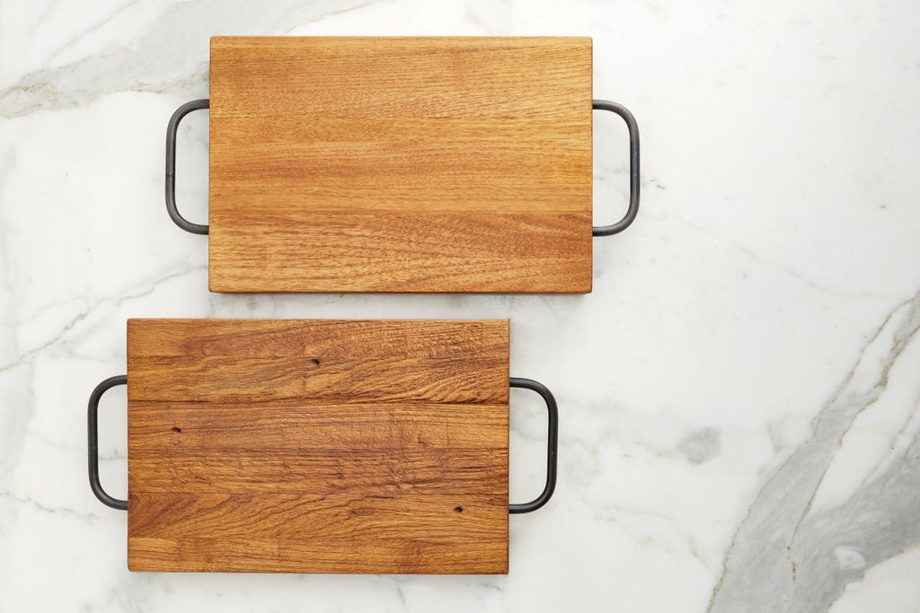 Europe2You Farmhouse Cutting Board With Handles