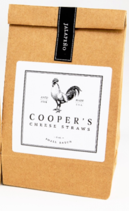 Cooper's Gluten-Free Cheese Straws with Jalapeño