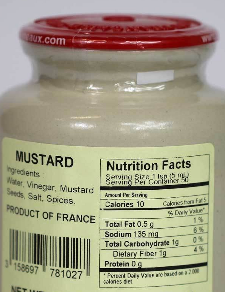 POMMERY - Whole-Ground Mustard - 500 grams