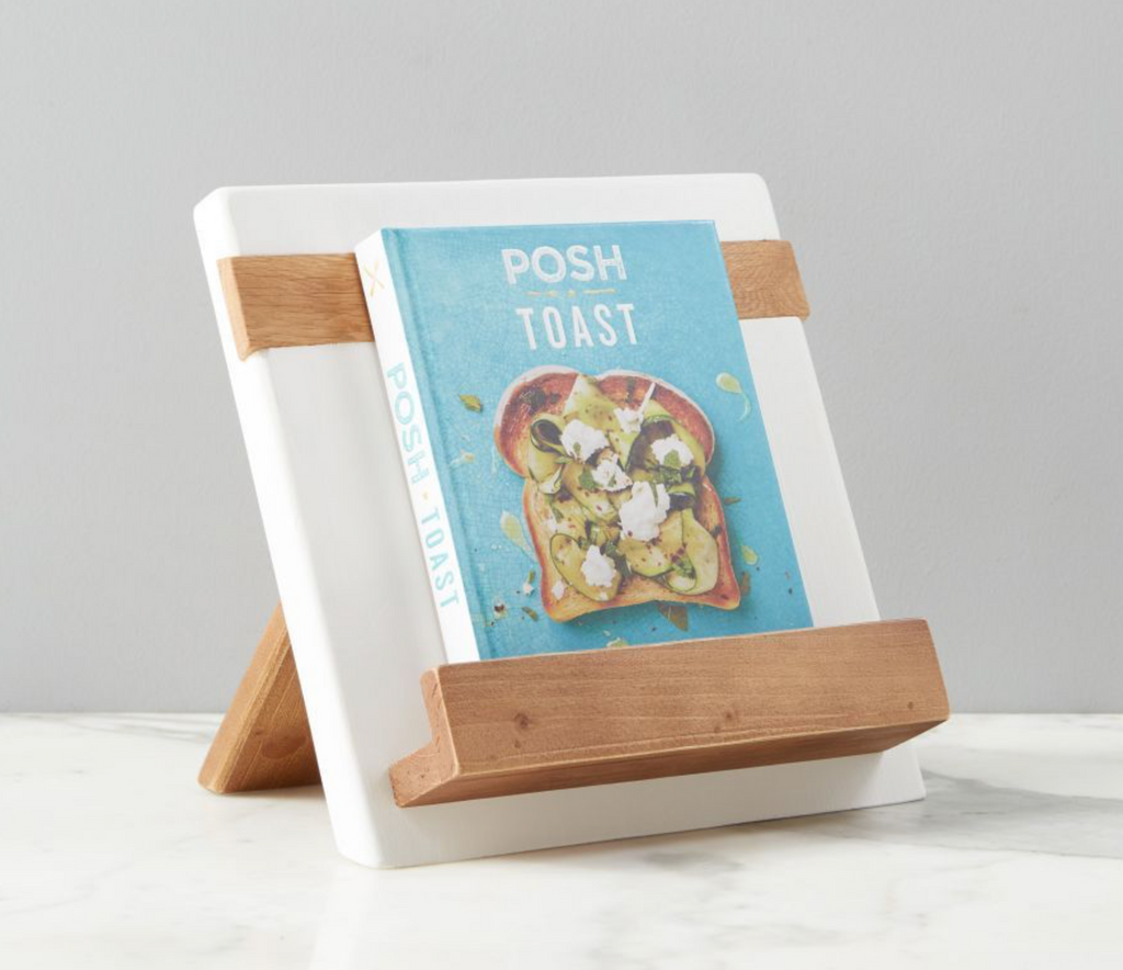 ETU - COOKBOOK / iPAD HOLDER - WHITE