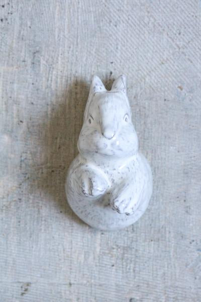 Kiss That Frog - Ceramic Baby Bunny Wall Hook