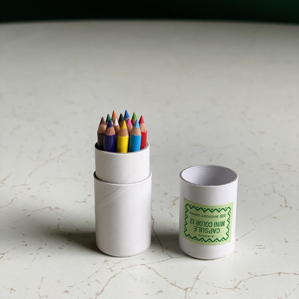MD Paper - Capsule Mini Color Pencil Set