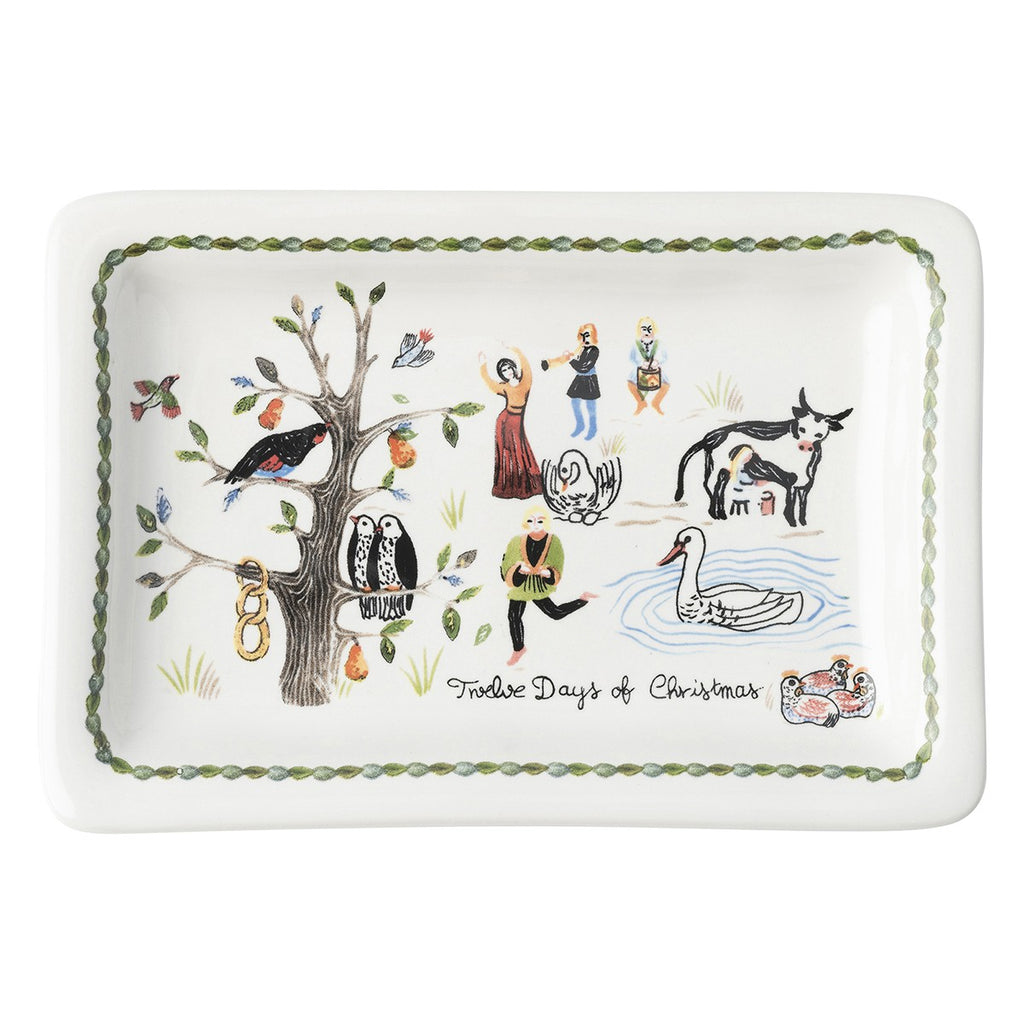 Juliska, Twelve Days of Christmas Trinket Tray