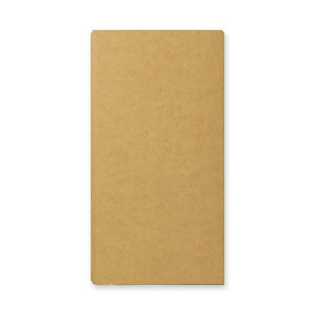 Traveler's Company - Notebook Refill - Regular Size -Kraft File