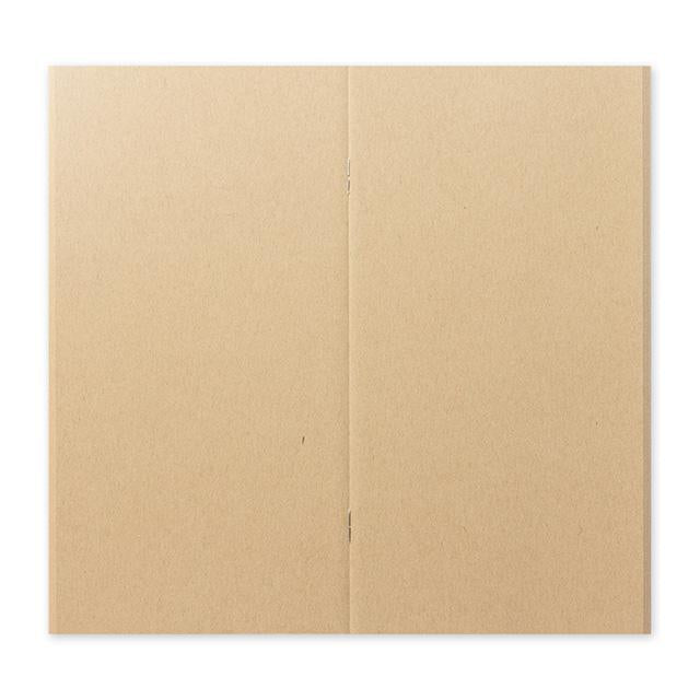 Traveler's Company - Notebook Refill - Regular Size - Kraft Paper