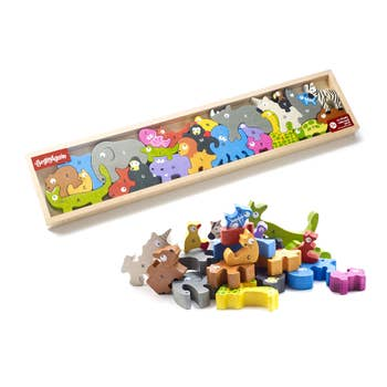BeginAgain - Animal Parade A to Z Puzzle