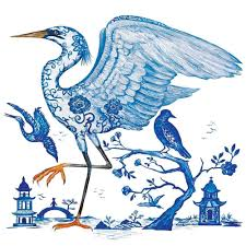 PPD Prince's Egret Luncheon Paper Napkins
