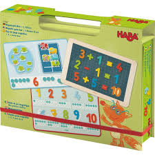 HABA - Magnetic Game Box 1 2 Numbers & You