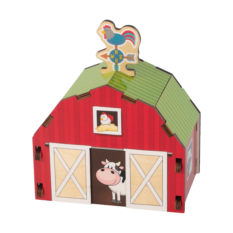 Build It Puzzle Barn