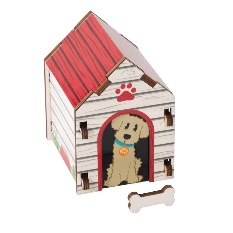 Build It Puzzle Dog House