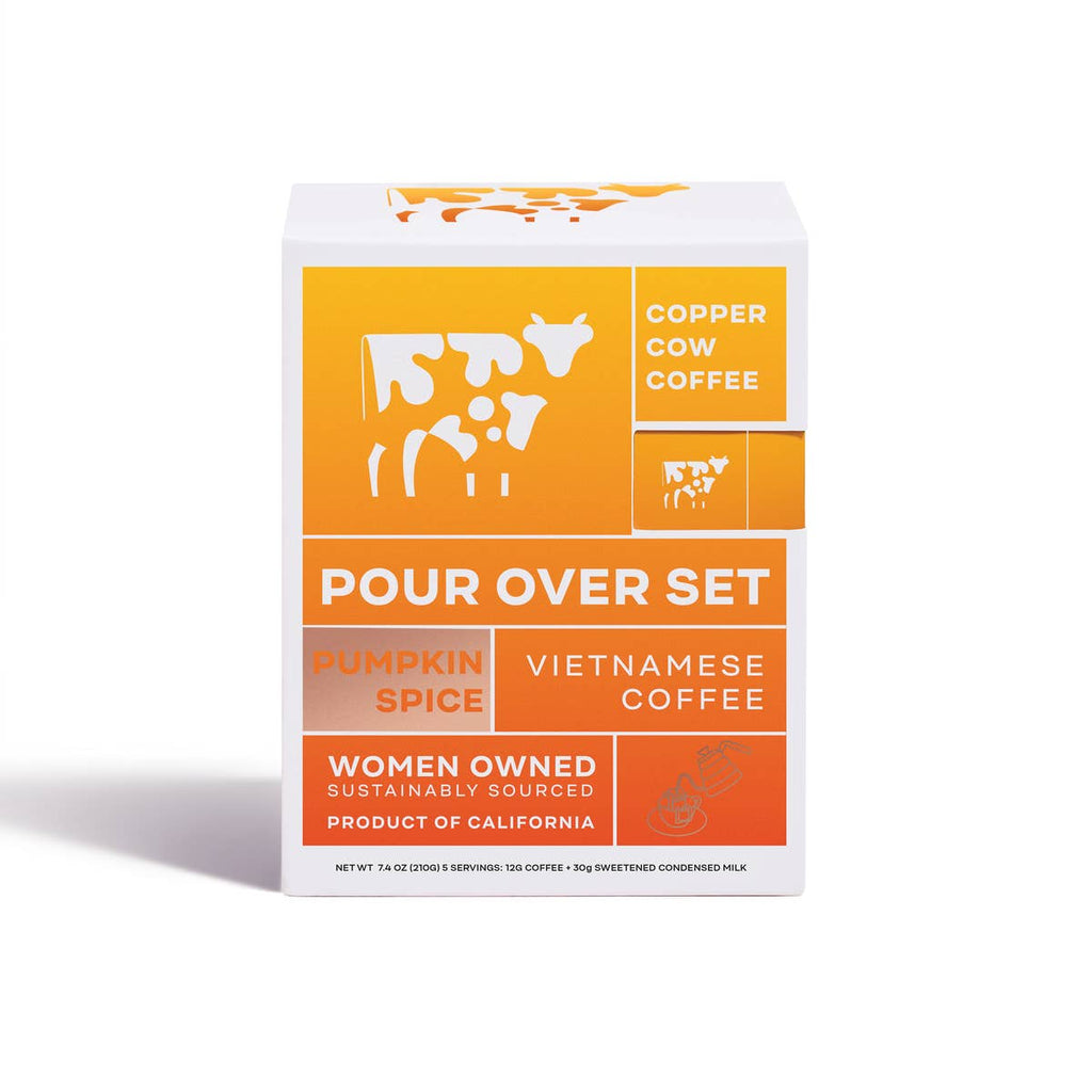 Copper Cow Coffee - Pumpkin Spice Latte - 5-Pack