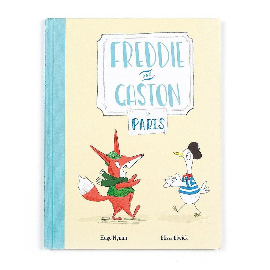 JellyCat - Freddie & Gaston in Paris Book