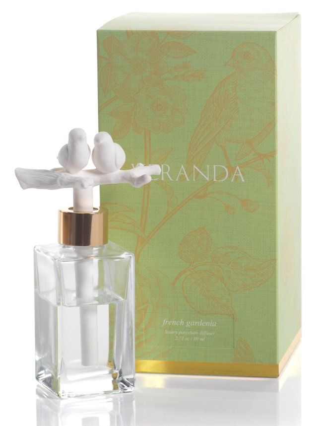 Zodax - Diffuser, VERANDA - LOVEBIRDS - FRENCH GARDENIA