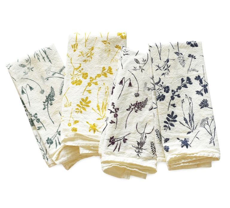 June & December - Mixed Wildflower Napkins Set