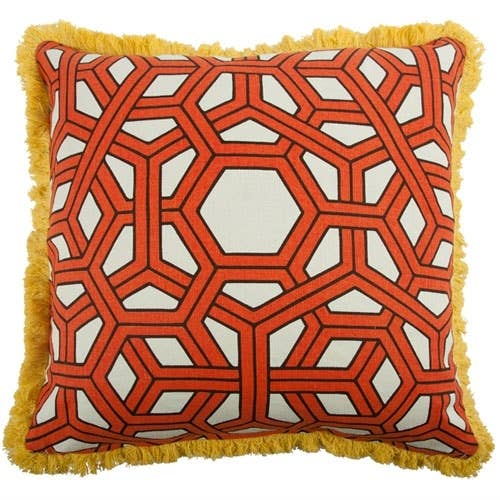 Thomas Paul - Hexagon Alcazar Pillow  22""