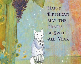 Sacred Bee Card No. 495 Sweet Birthday