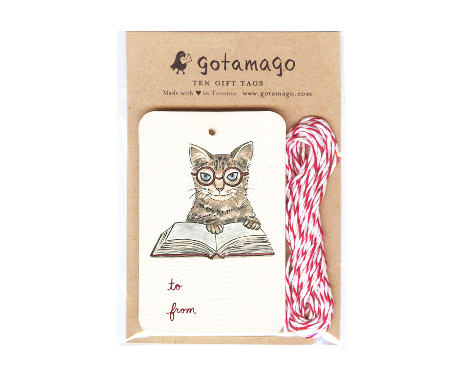 Gotamago - Cat Tags