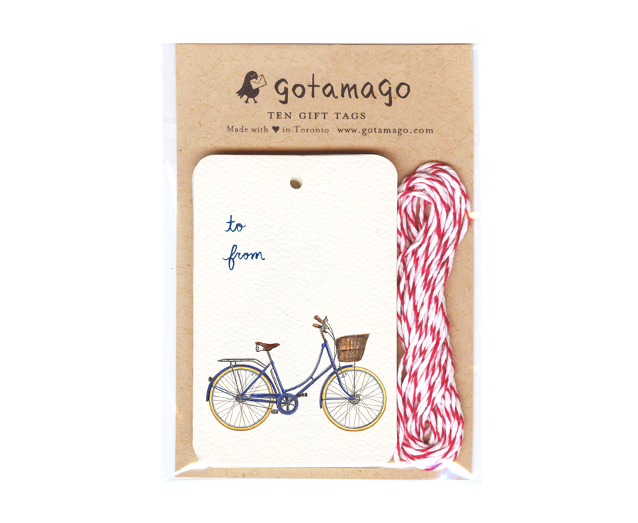 Gotamago - Blue Dutch Tags