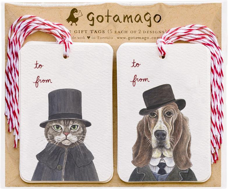 Gotamago - Shercat & Woofson Tags