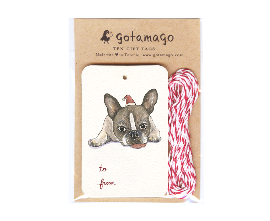 Gotamago - Frenchie Tags