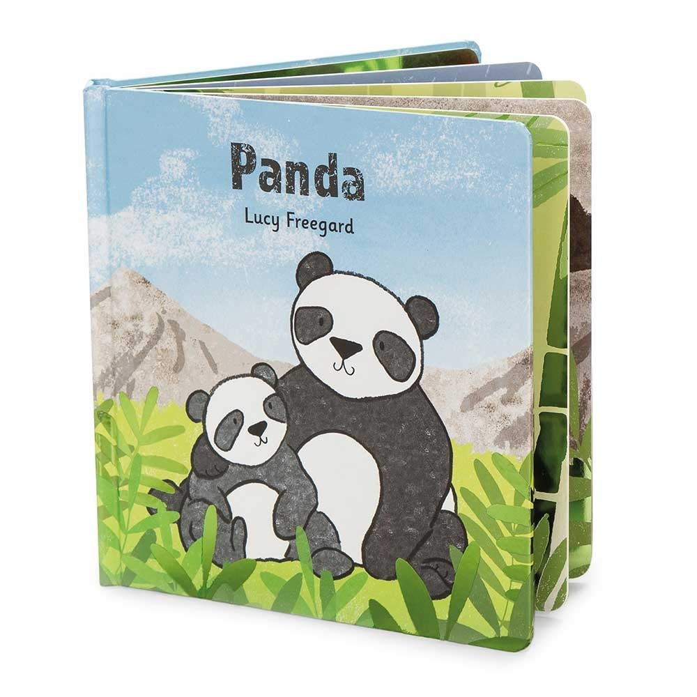JellyCat - Panda Book