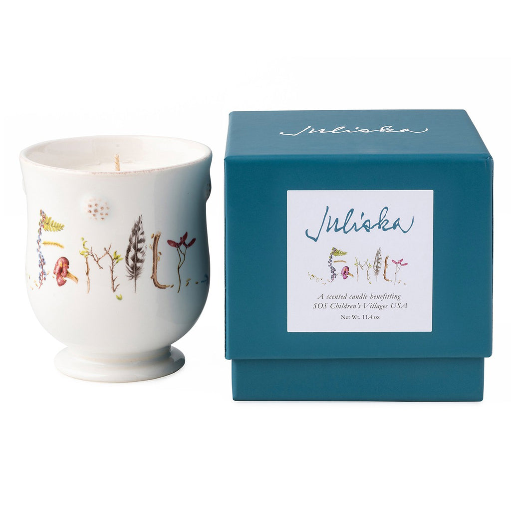 Juliska Berry & Thread SOS Children's Village Family Candle