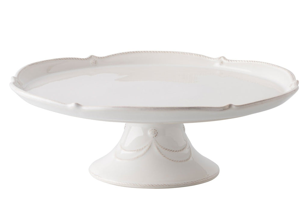 "Juliska Berry & Thread Whitewash 14"" Cake Stand"