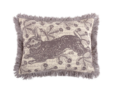 ThomasPaul - Bunny Embroidered Pillow