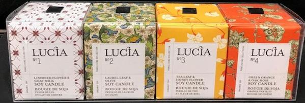Lucia, Assorted Travel Size Candle Sets Fragrance Z1-4