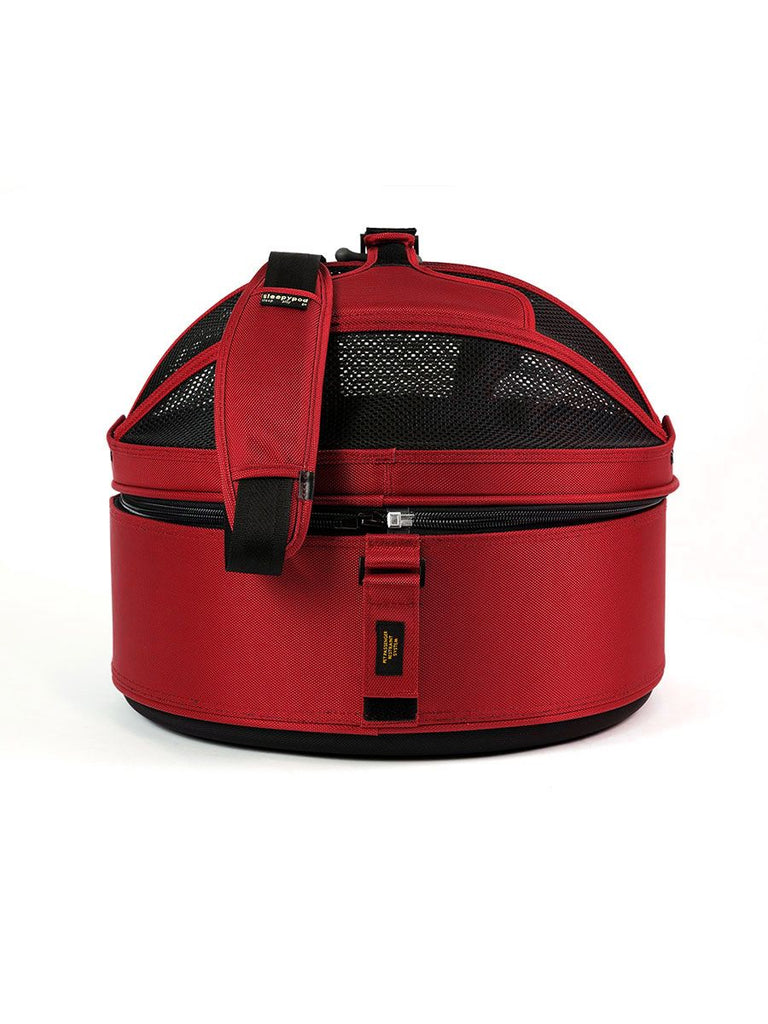 Sleepy Pod Dog/Pet Carrier - Strawberry Red