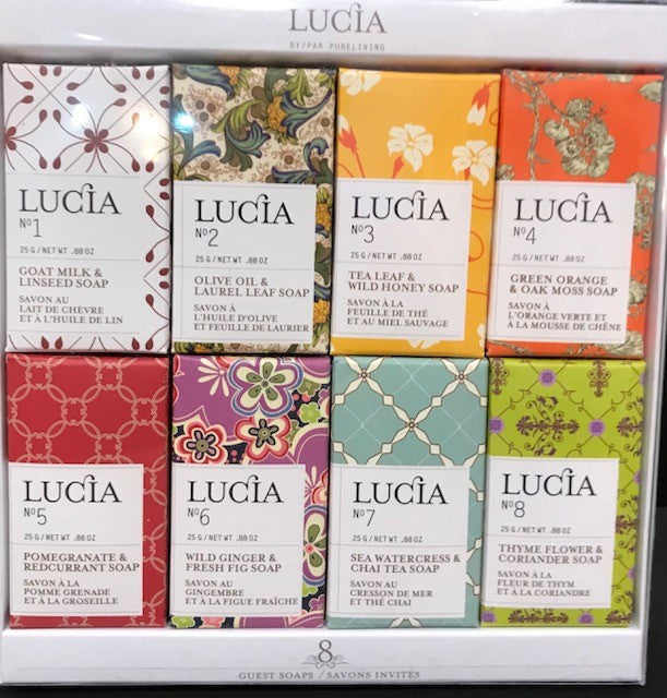 Lucia Small Soap Gift Set