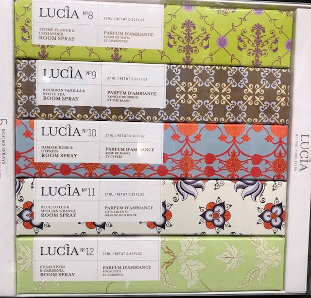 Lucia Fragrance Spray Gift Set, Assorted