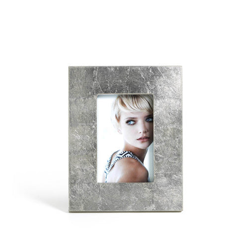 Zodax - Silver Leaf Photo Frame