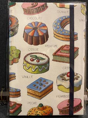 Rossi Mini Notebook w/ Elastic Closure - Dessert