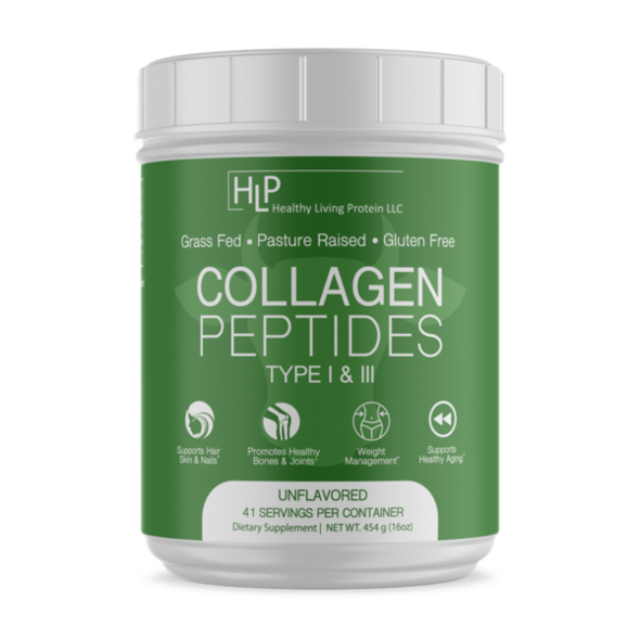 Healthy Living Proteins - Bovine Collagen Peptides Type 1 & 3