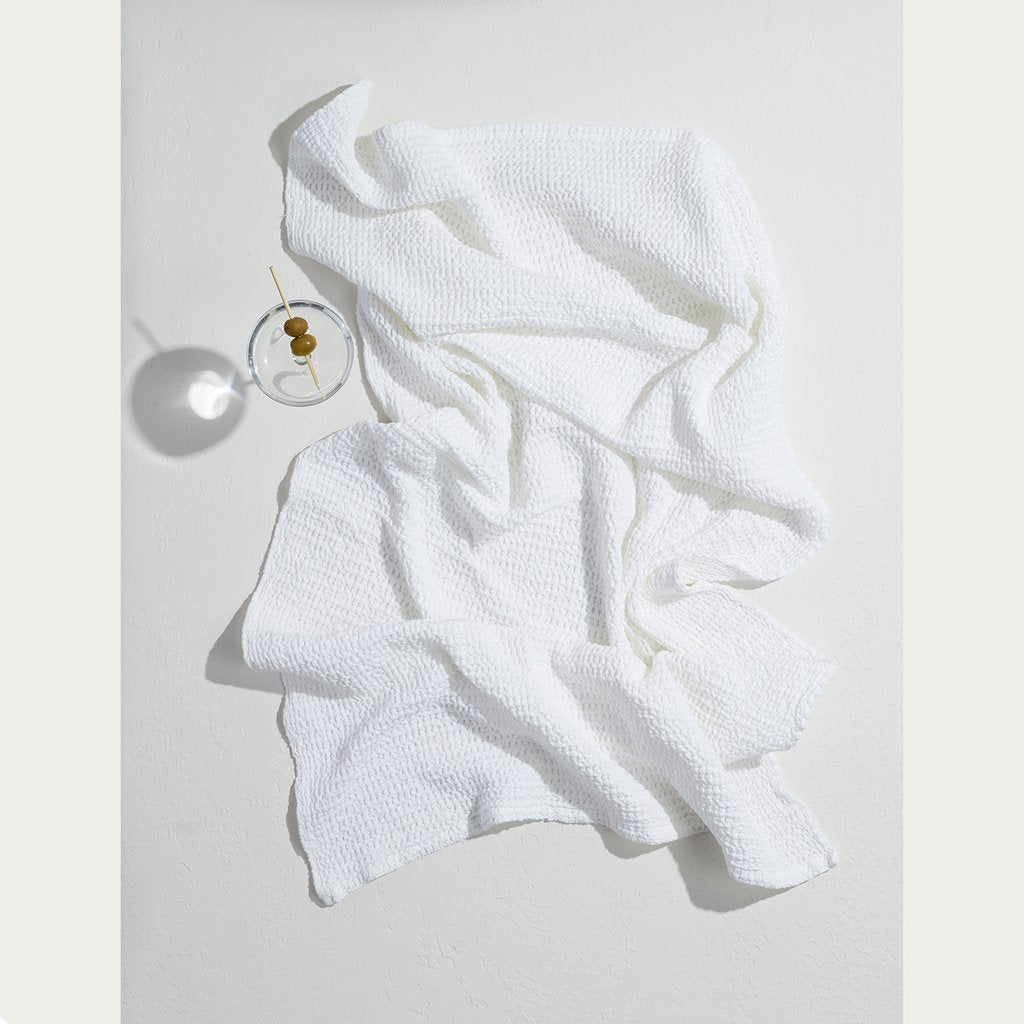 Hawkins New York - Simple Waffle Towel - Bath Towel