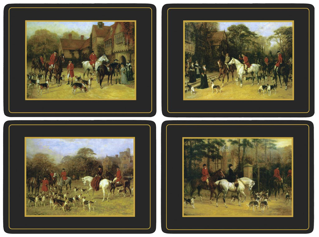 Pimpernel - Tally Ho Placemats - Set of 4