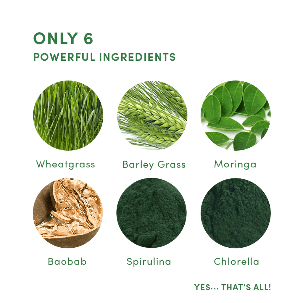 Your Super.Com - Super Green Organic Superfood Mix