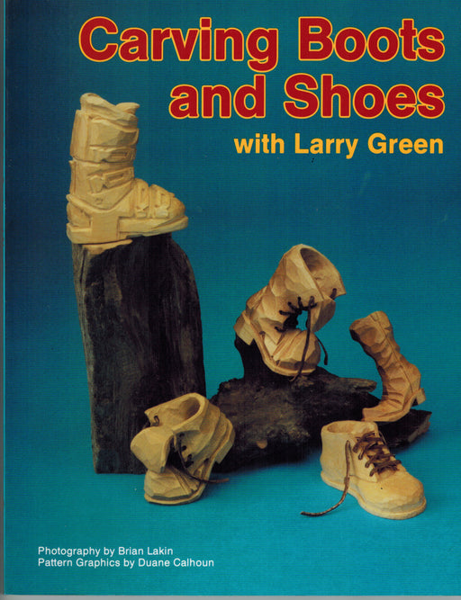 Carving Boots and Shoes - Green