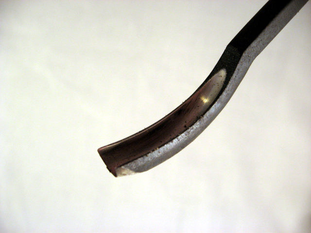 Wood Carving Tool - #11 VEINER - DEEP Gouge SHORT BENT