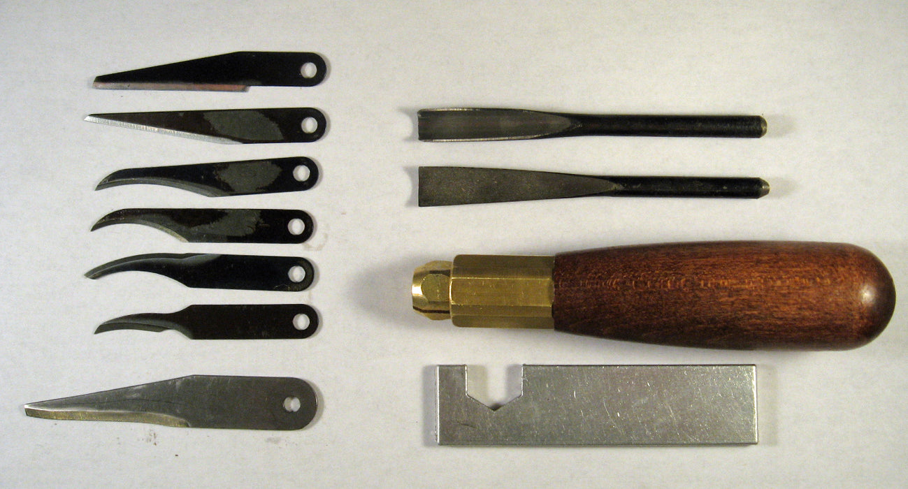 Warren Whittler's Gouge & Knife Kit