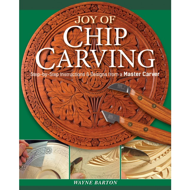 Joy of Chip Carving-Barton