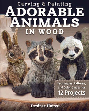 Carving & Painting Adorable Animals in Wood- Hajny 6/2020