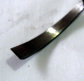 Wood Carving Tool - #1 Chisel SHORT BENT