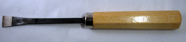 Wood Carving Tool - #1 Fishtail Chisel Double Bevel