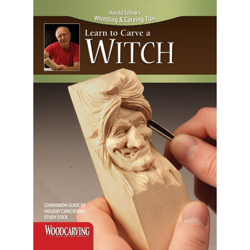 Learn to Carve Faces & Expressions WITCH - Enlow