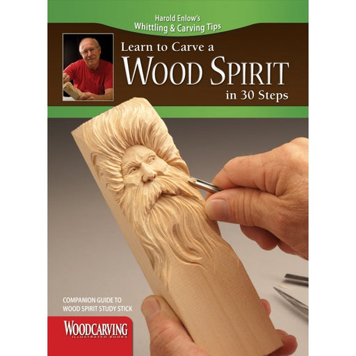 Learn to Carve Faces & Expressions WOODSPIRIT - Enlow