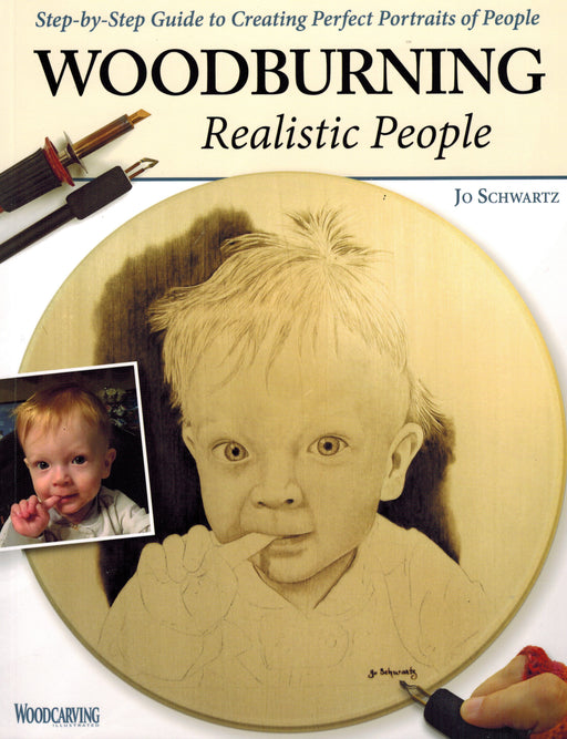Woodburning Realistic People - Schwartz