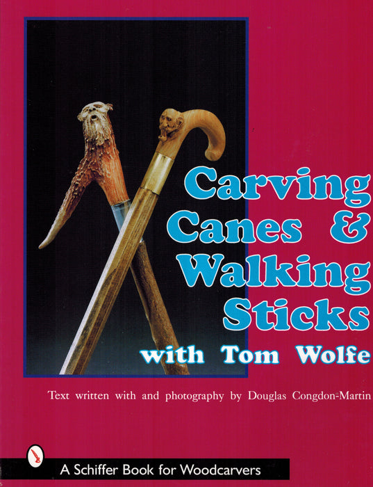 Carving Canes & Walking Sticks - Wolfe